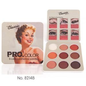 Image 4 - Matte Eyeshadow Palette Nude Minerals Professional Eye Shadow Powder Pigment Cosmetic Waterproof Matte Makeup Eyeshadow Pallete