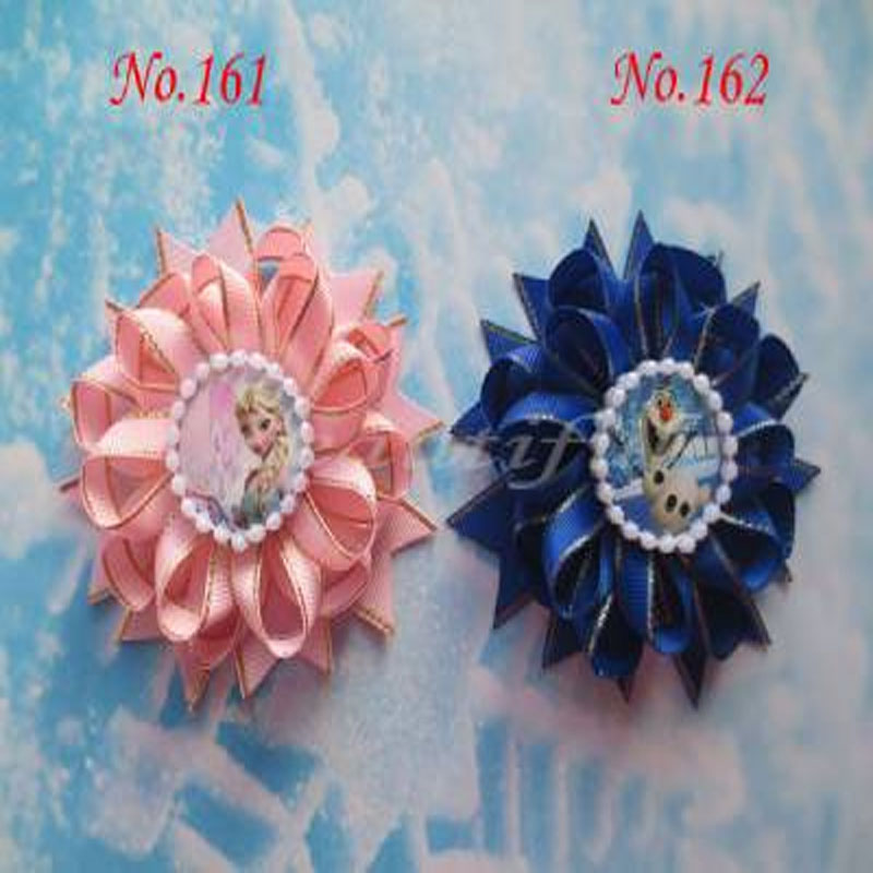 100 BLESSING Good Girl Boutique Modern Style B-Bird/'s Nest Hair Bow Clip 200 No.