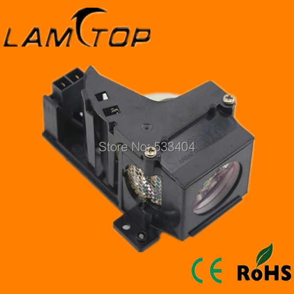 LAMTOP compatible lamp with housing/cage fit for projector LC-XA20 lamtop original lamp with housing cage dt01022 for ed x24