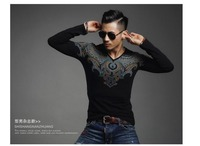 Autumn And Winter Men T Shirt Fashion Slim Models Leading Wholesale Manufacturers Tshirt Best Quality Western