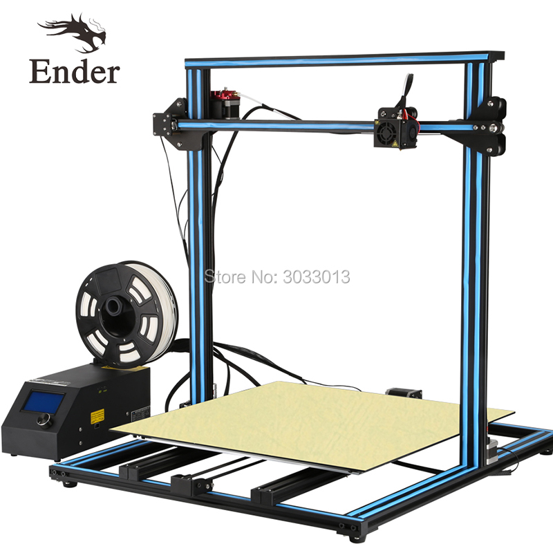 CR-10S 4S 5S/CR-10Mini CR-10 3D Printer DIY Kit option Large size Dual Z Rod Filament Sensor/Detect Resume Power Off Creality 3D creality 3d cr 10s diy 3d printer kit large printing size 300 300 400mm dual z rod resume printing filament detect function