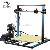 CR 10S 4S 5S/CR 10Mini CR 10 3D Printer DIY Kit option Large size Dual Z Rod Filament Sensor/Detect Resume Power Off Creality 3D