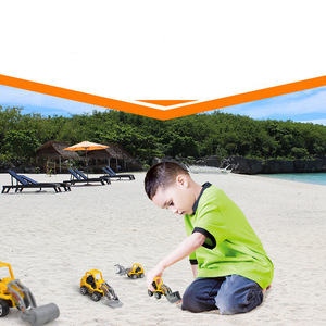 Image 2 - 1PC Carino Mini Auto Giocattoli Diecast Veicolo Costruzione Bulldozer Escavatore Ingegneria Del Veicolo Kit Per Bambini Mini Auto Ingegneria