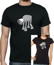 Star Wars AT-AT Cone of Shame T-Shirt .. Sizes Up to 5XL Free shipping Harajuku Tops Fashion Classic Unique цена
