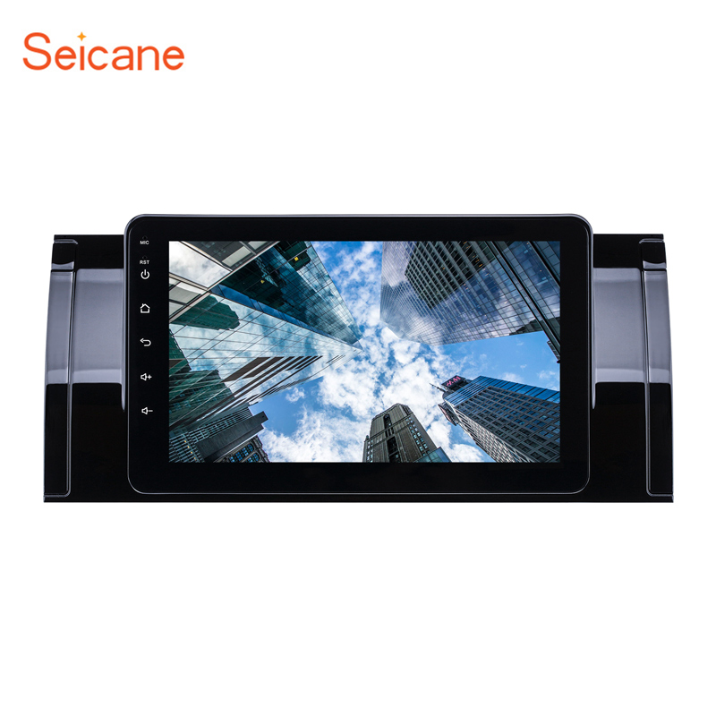 Seicane 8-core Android 8.1  8 inch Car GPS Radio Player for BMW X5 E53 2000 2001 2007 support DVR Mirror Link Carplay TPMS OBDSeicane 8-core Android 8.1  8 inch Car GPS Radio Player for BMW X5 E53 2000 2001 2007 support DVR Mirror Link Carplay TPMS OBD