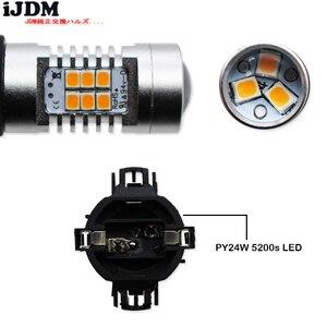 Image 4 - Error Free  PY24W 5200s LED Bulbs For BMW Front Turn Signal Lights, Fit E90/E92 3 Series, F10/F07 5 Series, E83 E70 X5 E71 , etc