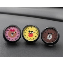 Car Clock Decoration Cartoon El