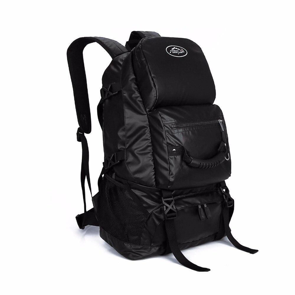 40L Waterproof Tactical Backpack Hiking Bag Cycling Climbing Backpack Laptop Rucksack Travel Outdoor Bags Men Women Sports Bag big capacity tactical canvas backpack vintage laptop bags hiking men s backpack schoolbag travel rucksack outdoor daypack me0888