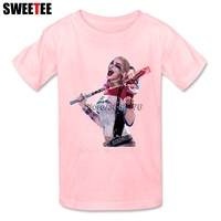 Suicide Squad Boy Girl T Shirt Baby Infant Cotton O Neck Kid Tshirt Children S Teeshirt