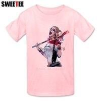 Suicide Squad Boy Girl T Shirt Baby Infant Cotton O Neck Kid Tshirt Children S Teeshirt