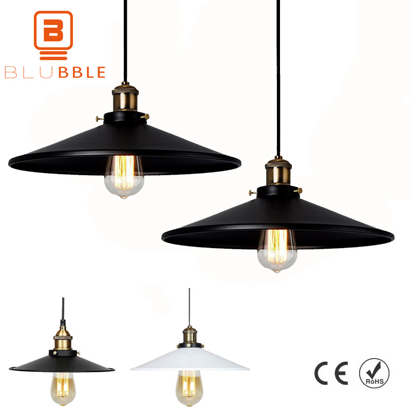 BLUBBLE Loft Retro Industrial Style Pendant Lights Iron Art Vintage Pendant Lamp Cafe Bar Modern Hanglamp Kitchen Restaurant loft retro pendant lamp creative iron pipes pendant lights industrial style pendant light for bar restaurant indoor art lighting