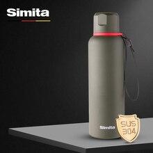 Simita 600 мл Премиум термос с двойными стенками вакуумной изоляцией бутылка для воды для путешествий кружка кофе чашки Кемпинг термосы спортивные thermomug