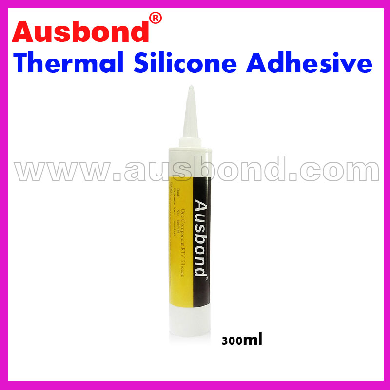 Wholesale 300ml Thermal Silicone Adhesive Glue Grease Coupling CPU Heatsink Compound Silicone Thermal Plastic Radiator Adhesives gd brand 85g gd9980 thermally conductive adhesive glue thermal grease with adhesive heatsink plaster heatsink compound st85