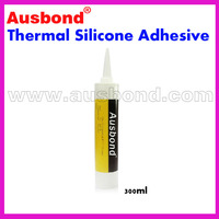 Wholesale 300ml Thermal Silicone Adhesive Glue Grease Coupling CPU Heatsink Compound Silicone Thermal Plastic Radiator Adhesives