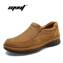 Купить с кэшбэком Top Quality Lace-Up Safety Men Boots Handmade Vintage Ankle Men Shoes Natural Cow Leather Outdoor Waterproof Shoes Men