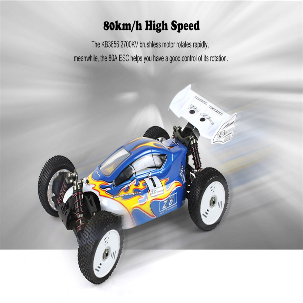 4WD Electric RC Car Rock Crawler Remote Control Toy Racing Truck On The Radio Control Of ...