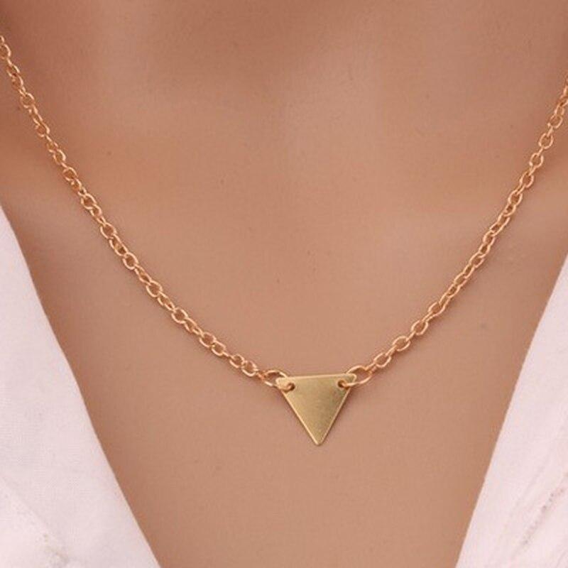 Bijoux européens et américains feuille clavicule chaîne marque tempérament personnalité mode simple cercle barre collier femme