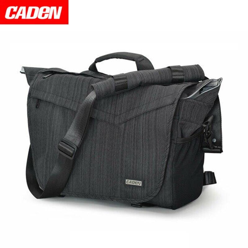 Caden SLR Digital Camera Bag Single Shouder Waterproof Professional Backpack Large Capacity Messenger Photo man woman