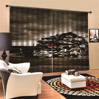 Dark Clouds Blackout Curtains For Kids Room Children For Children Bedroom Living Room Window Curtain 3D Digital Print MA29