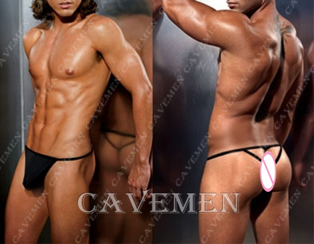 Temptation Male * 2653 *sexy men lingerie T-Back Thong G-String T pants Brief Underwear free shipping