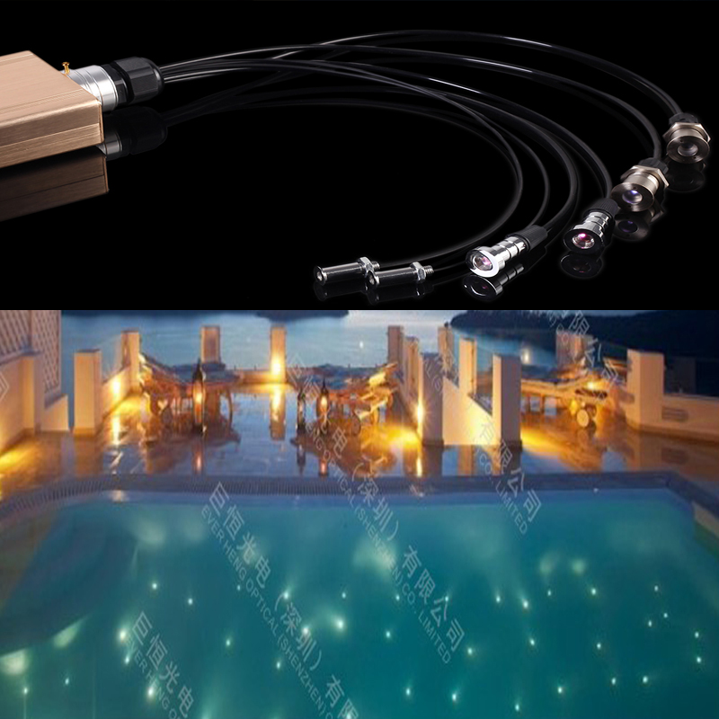 Us 86 26 Underwater Swimming Pool Fiber Optic Lighting Light With Rf Remote Control Rgb Color Change In Lights From On