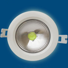 где купить  New Arrival 15W Waterproof IP65 Dimmable COB led downlight LED Spot light led ceiling lamp free shipping по лучшей цене