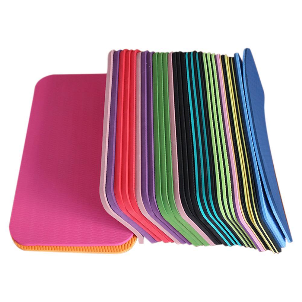 @1  Yoga Knee Pad Нескользящий влагостойкий Yoga Matk Планка пилатес Упражнение ✔