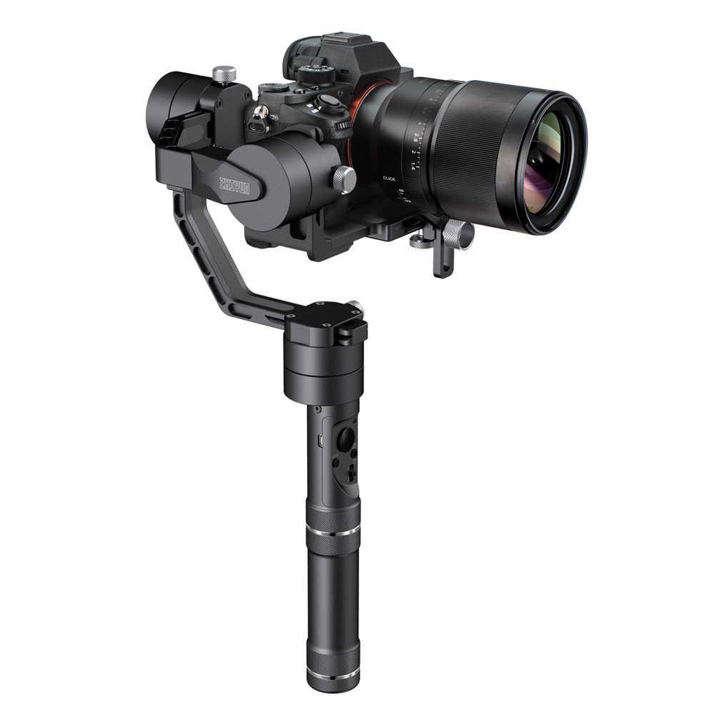 ZHIYUN grue officielle V2 stabilisateur de cardan tenu dans la main à 3 axes pour appareil photo reflex numérique pour Sony Canon Panasonic VS grue 3LAB