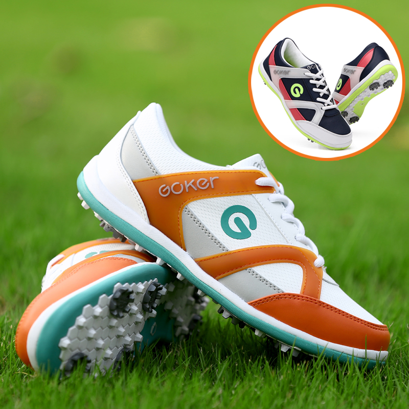 ФОТО New Ladies Golf Shoes GOLF shoes golf shoes breathable nail activities are waterproof shoes