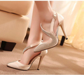 2016 Sexy High Heels Rhinestone Women Pumps Silk Surface Women Sandals Thin High heels Wedding Party Shoes