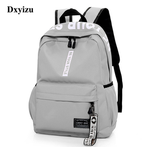Image 1 - Mochila de gran capacidad a la moda para hombre y mujer, bolso escolar de nailon para adolescentes, bolso informal para estudiantes, mochila para chicas adolescentes