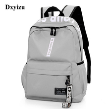 Yeni moda kadın erkek büyük kapasiteli sırt çantası naylon gençler okul çantası rahat tarzı okul çantası genç kızlar için sırt çantası kadın