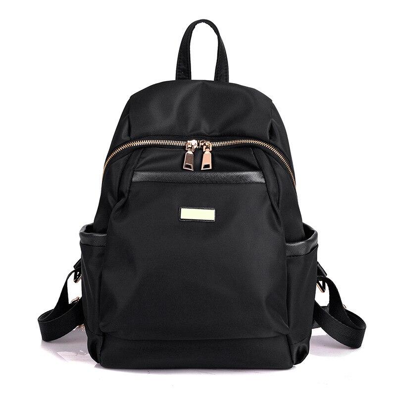 New Korean Style Women Backpack Waterproof Nylon Backpack Lady Women s Backpacks Female Casual Travel Bag