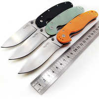 WTT AUS-8 nóż taktyczny składany G10 uchwyt Survival na zewnątrz kemping przenośne noże bojowe EDC polowanie wielu narzędzi szczur Model 1