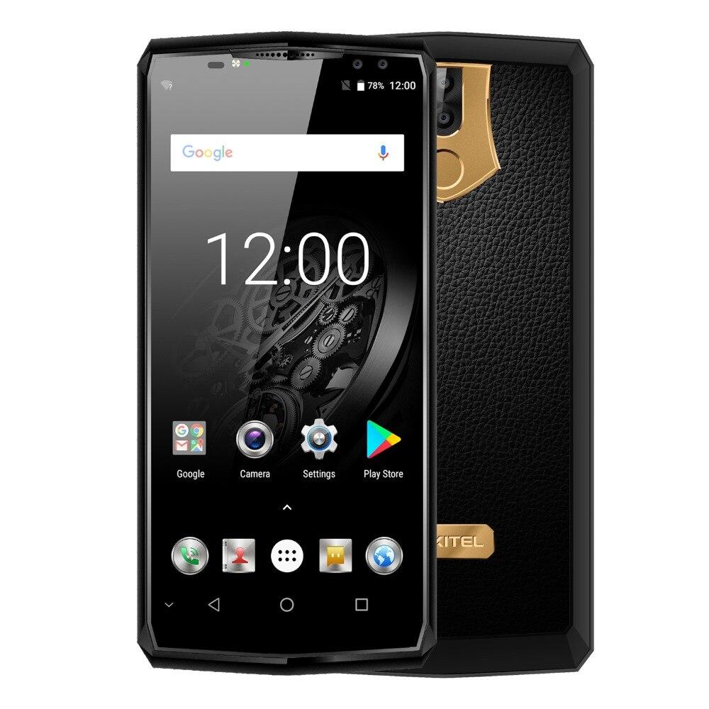 Оригинальный OUKITEL K10 11000 мАч 5 В/5A Flash заряжать смартфон MTK6763 Восьмиядерный 6 ГБ 64 ГБ 6,0 18:9 Дисплей Face ID мобильного телефона