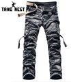 Hombres C amouflage Pantalones 2017 Nuevo Diseño De Moda de longitud Completa Pantalones Cargo Casual Venta Caliente de Primavera y Verano Pantalones masculinos MKX790