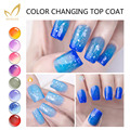 MONASI Chameleon Colors UV&LED Soak Off Nail Gel Polish Color Chang Top Coat Temperature Change Colors Top Gel Lacquer Nails 5ml