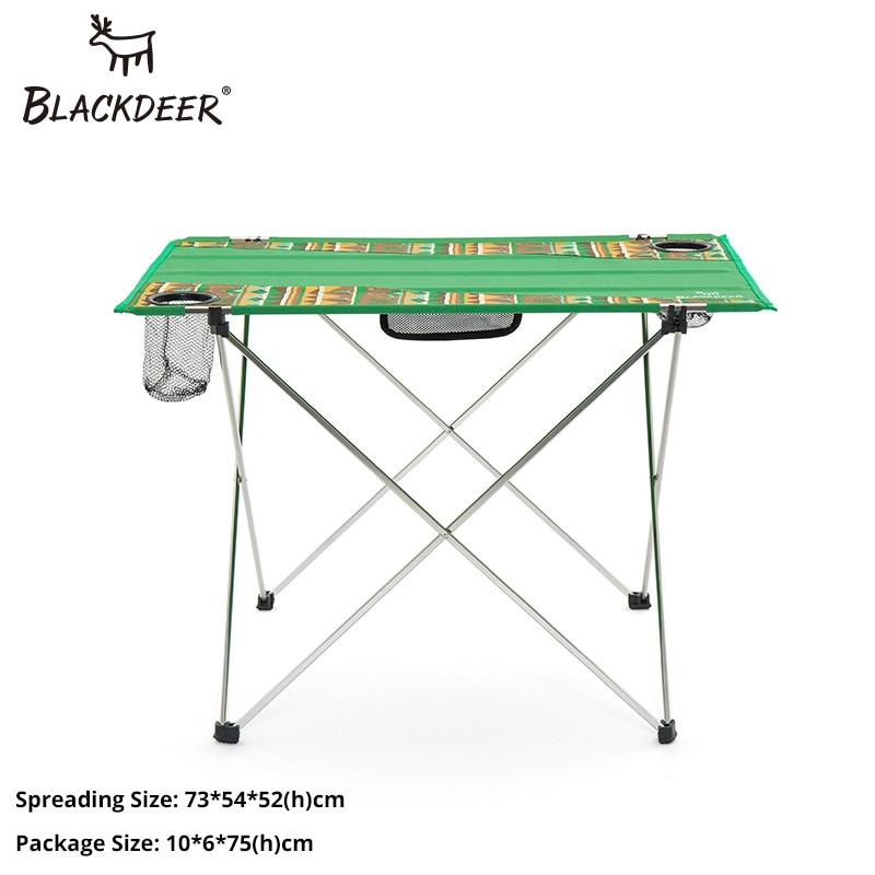 New Ultra-Light Folding Aluminum Camping Picnic Bbq Table Outdoor Camp Equipment