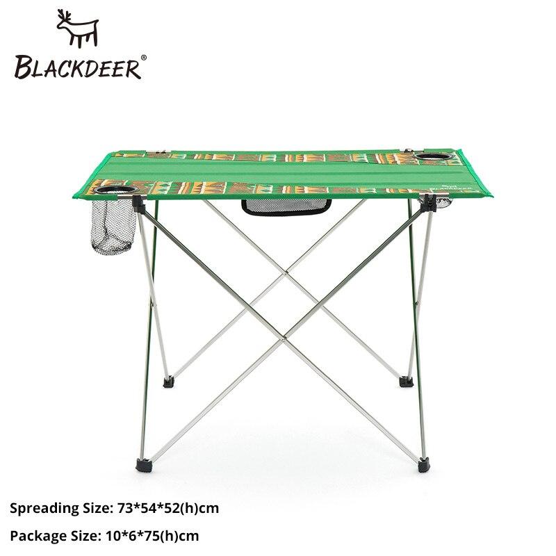 BLACKDEER туристическое снаряжение открытый портативный складной стол для рыбалки стол путешествия Пикник алюминиевый сплав Сверхлегкий 1,15 кг