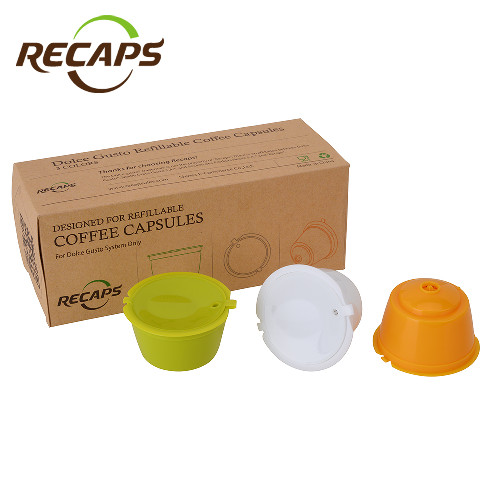Buy 3pcs dolce gusto capsules reusable refillable nescafe do - Rangement capsules dolce gusto ...