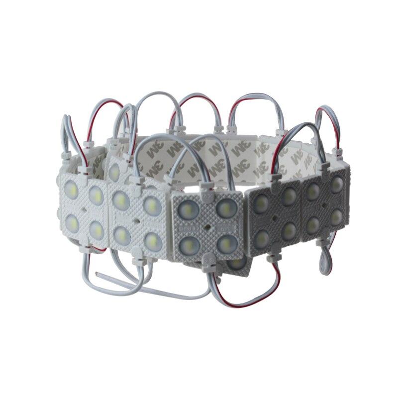 Φ_Φ500 шт./лот 2 Вт LED 5730 4 Светодиодный модуль 12 В ...
