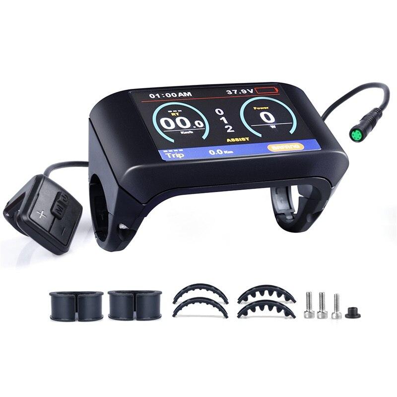 US $74 99 |TFT LCD Display Bafang Mid Motor BBS01B BBS02B BBSHD Electric  Bicycle Speed Controller 24V/36V/48V/60V Kits E Bike 8FUN Parts-in Electric