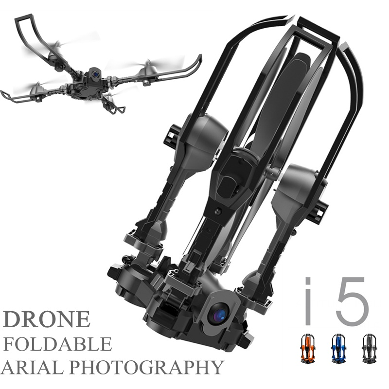 Deformation Drones With Camera Foldable Drone Rc Helicopter Remote Control Toys For Children Selfie Drone Yizhan I5hw Mini Dron