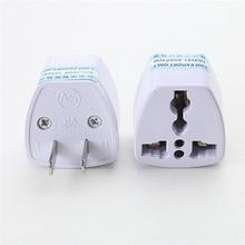 EU Europe To USA US UK Charger Power Plug Adapter Converter Wall Plug Home drop shipping 0811