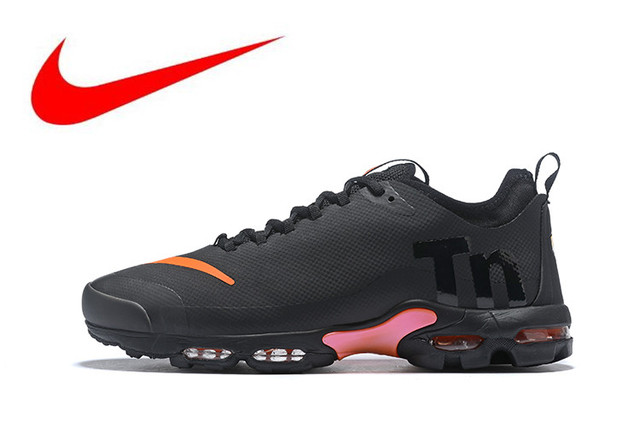 info for d8f02 6fec3 Original Nike Air Max Plus Tn Ultra Se Men s Breathable Breathable Running  Shoes Sports Sneakers Trainers