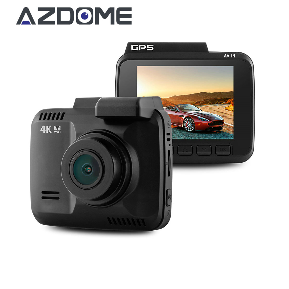 Azdome GS63H 2160P 4K Car DVR Camera With WiFi 2 4 inch Novatek 96660 Video Recorder