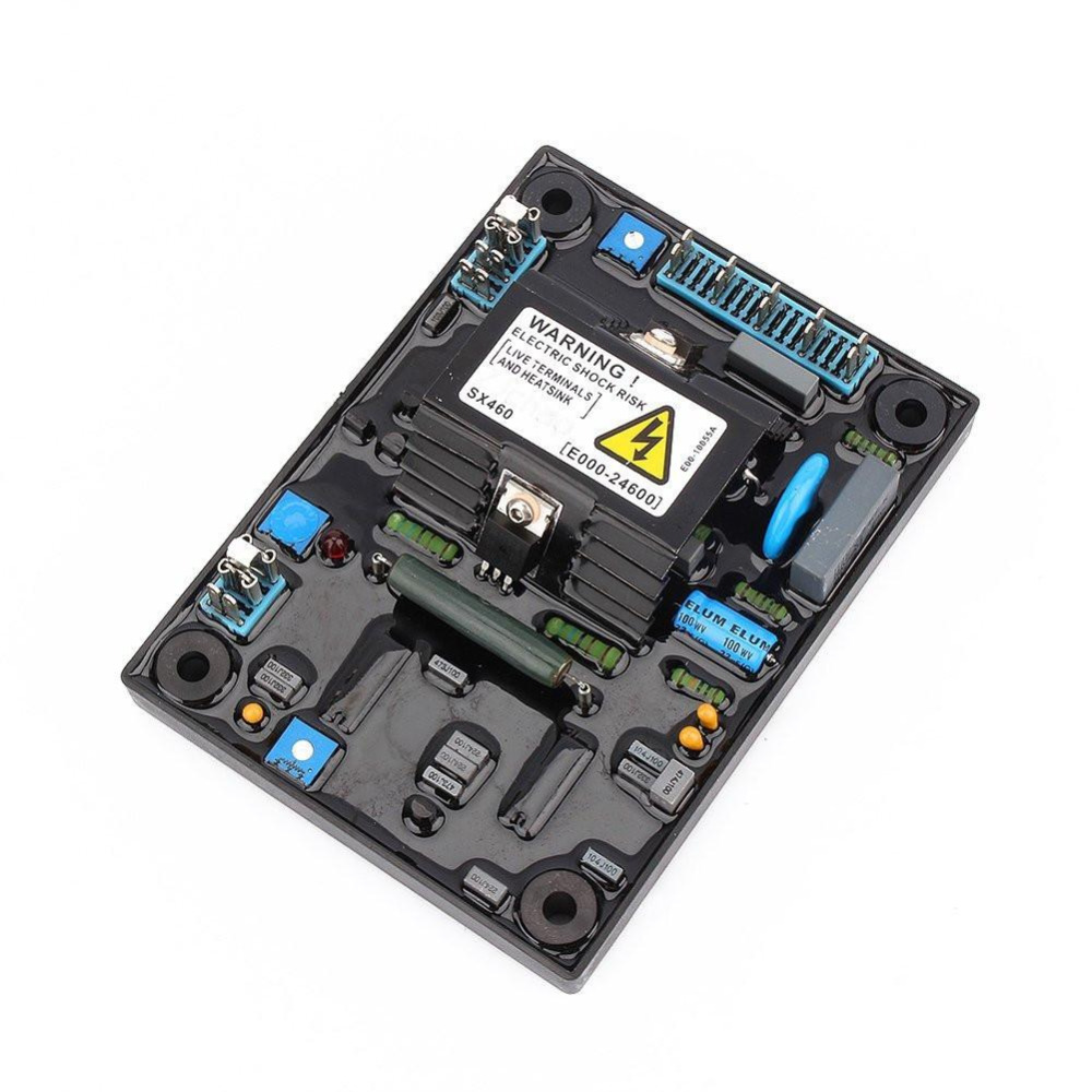 AVR SX460 quality Black Automatic Voltage Regulator AVR SX460 for Generator+free shipping avr sx460 new black automatic voltage regulator avr sx 460 blue capacity free shipping tnt fedex dhl