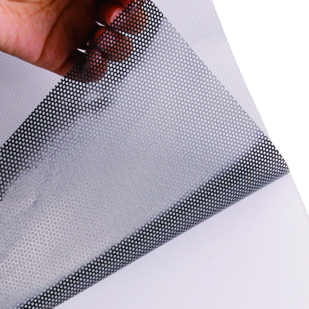 Printable One Way Perforated Vinyl Privacy Window Film