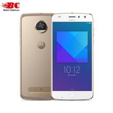 Оригинальный Motorola Moto Z2 играть XT1710-08 отпечатков пальцев Смартфон Snapdragon 626 Octa core android 7.1 5.5 дюймов 4 ГБ Оперативная память 64 ГБ Встроенная память