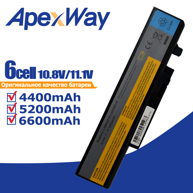 Image 1 - Laptop Battery L10L6Y01 B560 l09l6d16 for Lenovo for IdeaPad Y460A Y560A Y560P Y560G Y560-in Laptop Batteries from Computer & Office on